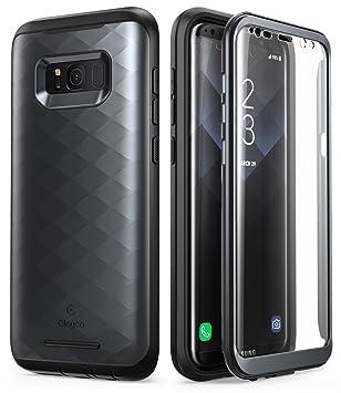 Clayco Funda Galaxy S8 [Hera Series] Carcasa Resistente con Protector de Pantalla Integrado para Samsung Galaxy S8 (Version 2017)
