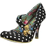 Irregular Choice Womens Wiskers Court Shoes