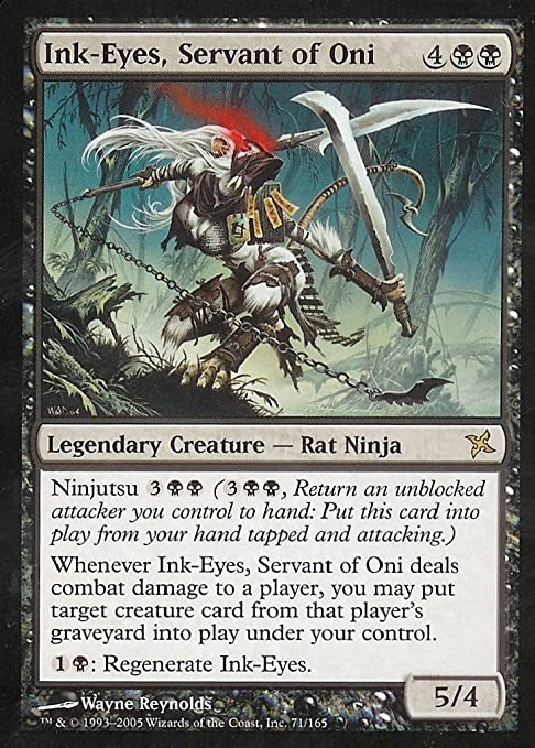 Magic: the Gathering - Ink-Eyes, Servant of Oni - Betrayers of Kamigawa - Foil