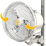 Ventilatore oscillante con clip 17cm 20W Secret Jardin (Monkey Fan MFO20)