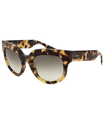 6d887dc50d9c5 Prada 07QS 7S00A7 Tortoise 07QS Poeme Cats Eyes Sunglasses Lens Category 2   Amazon.co.uk  Clothing