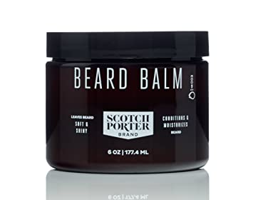 Scotch Porter Beard Balm, 3 Oz Primavera Life- Moisturizing Multi-purpose Face Oil 1 oz
