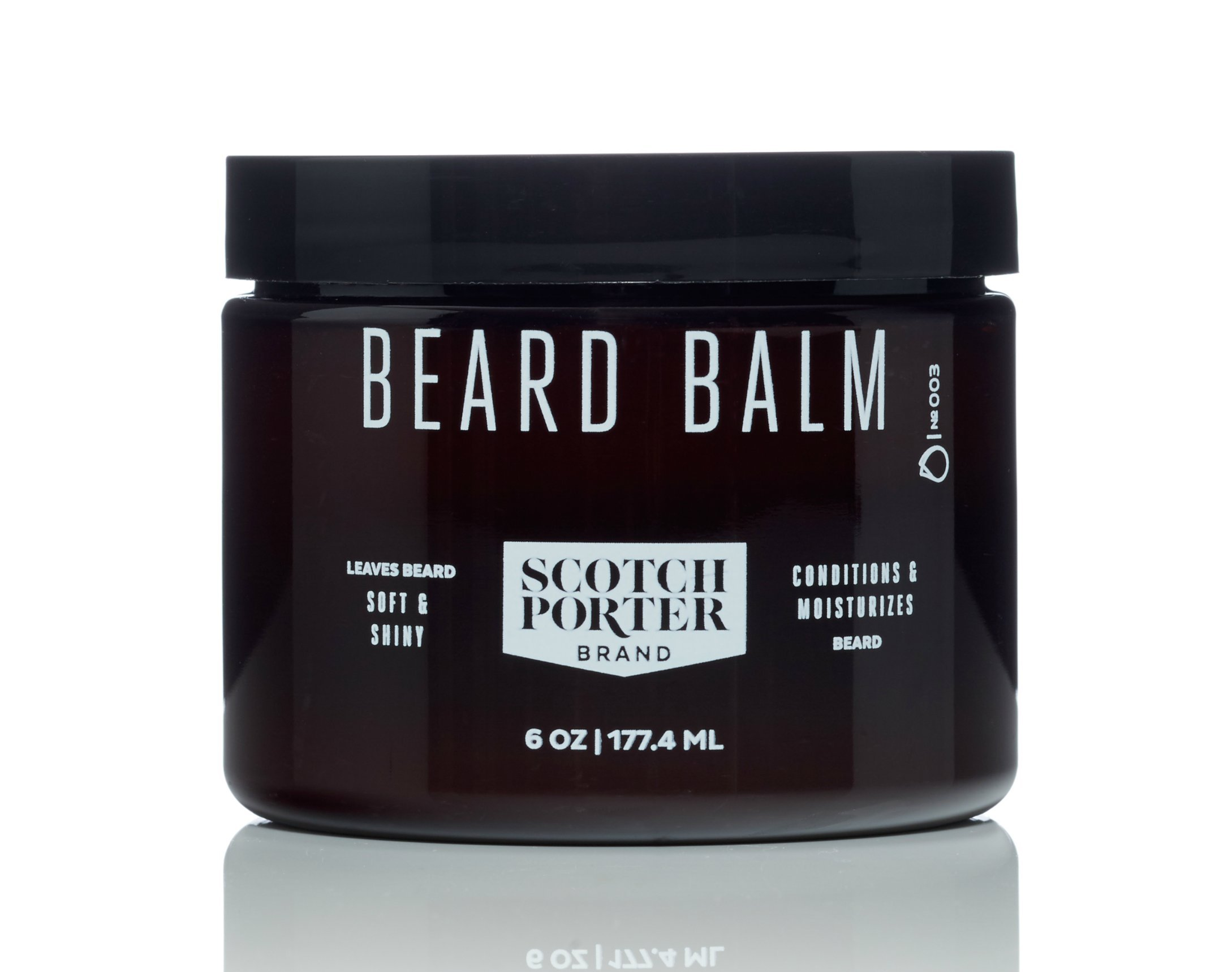 Scotch Porter - All Natural Men's Beard Balm - 6 oz.