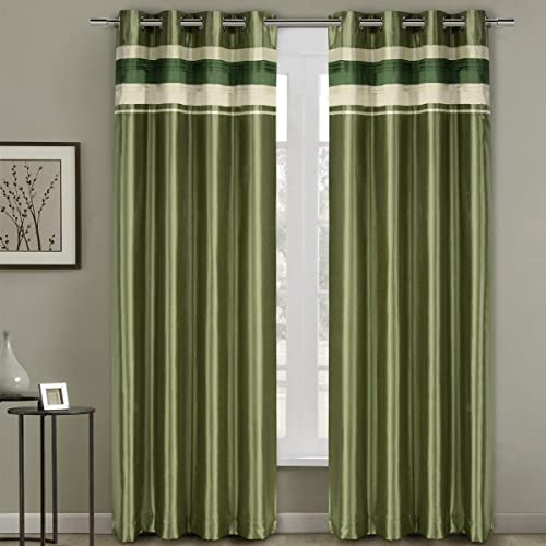 Royal Hotel Milan Sage Top Grommets Blackout Multiple Layers Fabric