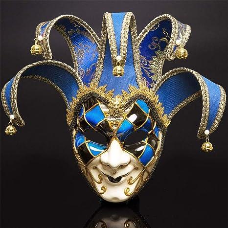 YLJYJ Veneciano Máscara, Carnaval Mascarada navideña Disfraz de ...