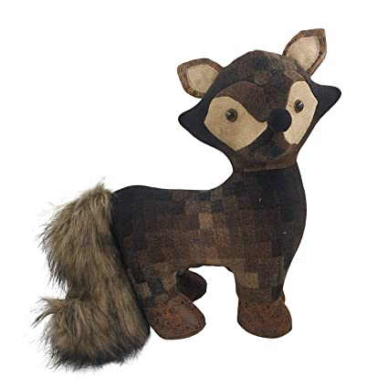 Amazoncom Fabric Animal Door Stopper Fox Lover Gifts Doorstops