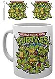 Teenage Mutant Ninja Turtles - Retro Logo - New Official Mug