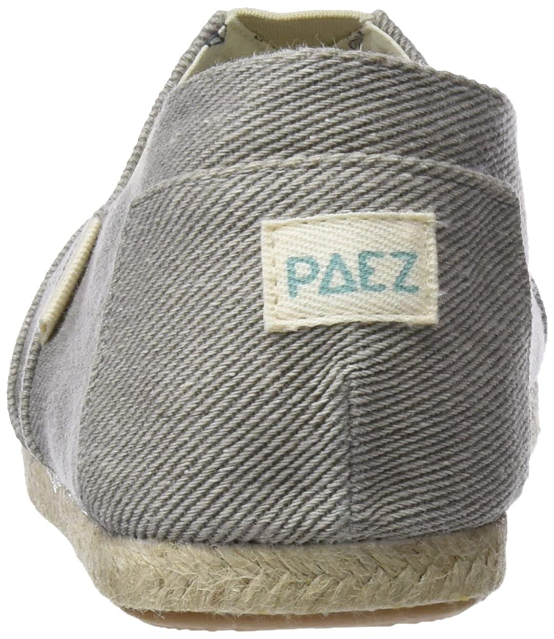 Paez Original-Essentials Grey, Alpargatas para Hombre: Amazon.es: Zapatos y complementos