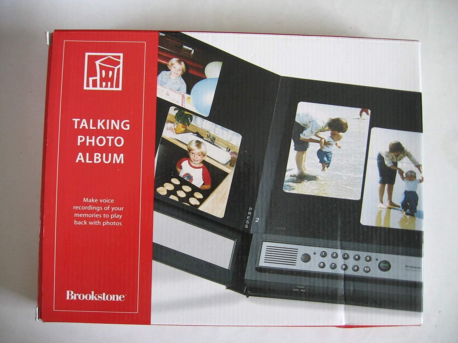 Talking Photo Album - Brookstone