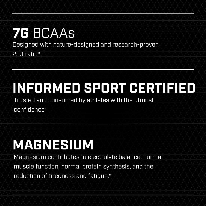 XTEND Sport Natural Zero   BCAA Polvo Fresa Kiwi   Sin colorantes ni aromatizantes artificiales   Bebida de aminoácidos de cadena ramificada con ...