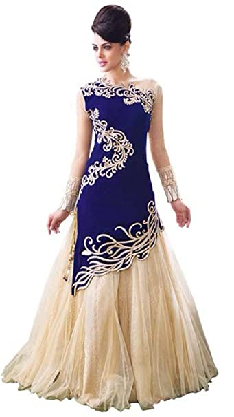 d2160d5ecb Royal Ethnic Indian Designer Wedding and Party Wear Anarkali Dress Salwar  Kameez: Amazon.ca: Clothing & Accessories
