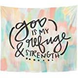 Amazon Com Emvency Tapestry Scripture Fruits Of The Happiness