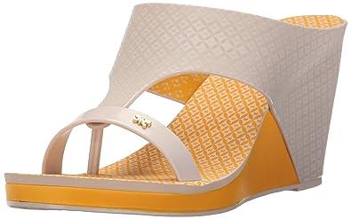 e0c6af0b55 Amazon.com | Zaxy Women's Glamour Top II Wedge Sandal | Platforms ...