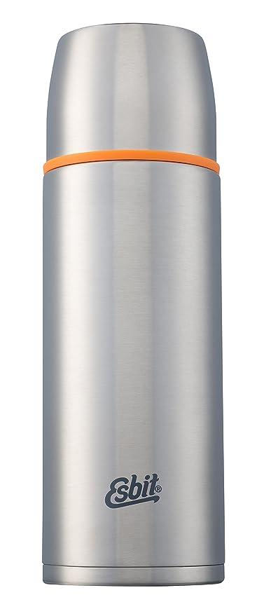 Amazon.com: Esbit – Termo de acero inoxidable – plata – 1000 ...