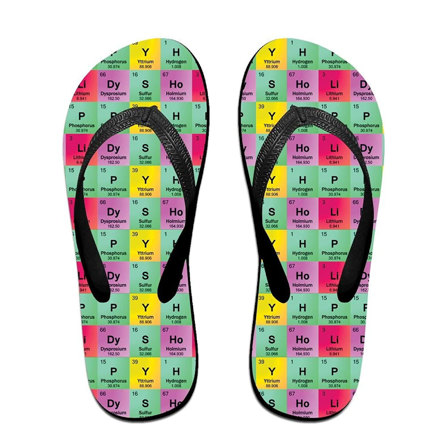Science teacher funny elements periodic table biology physics unisex science teacher funny elements periodic table biology physics unisex fashion beach sandals classical flip flops thong urtaz Choice Image