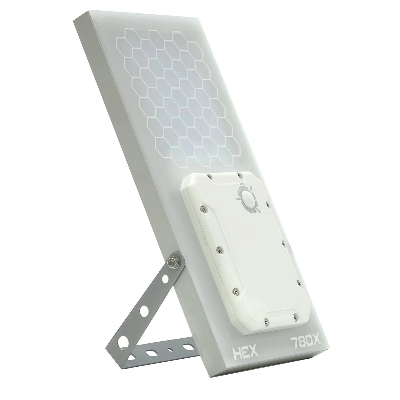 ソーラーウォールライト // HEX 780X Warm White Wall Light (温白色LED) //3段階電力設定、リチウム電池 // 温白色の光 B06XVWWXBM 17749