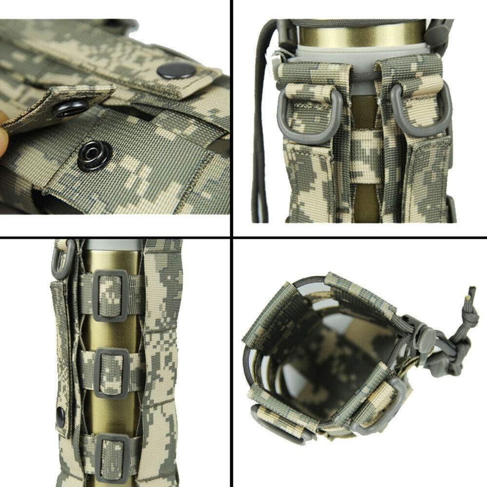 bolsa de soporte de botella de agua Bolsillo ajustable ajustable para hervidor de agua multifuncional para viajes de camping al aire libre housesweet Portabotellas de agua