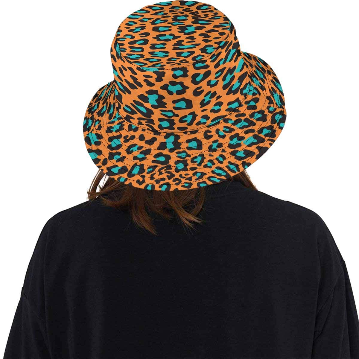 INTERESTPRINT Animal Leopard Prints Bucket Hat Boonie Sun Hats