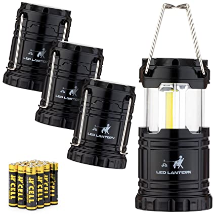 COB LED vs  non-COB Lanterns for emergency power outage