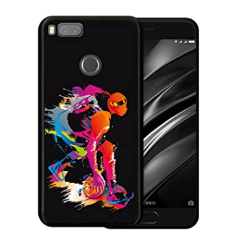 WoowCase Funda para Xiaomi Mi A1, [Xiaomi Mi A1 ] Silicona Gel ...