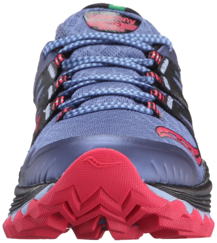 Saucony Women's Xodus Iso Trail US|Denim/Black/Pink Runner B018FAIRR4 8 B(M) US|Denim/Black/Pink Trail 546be3
