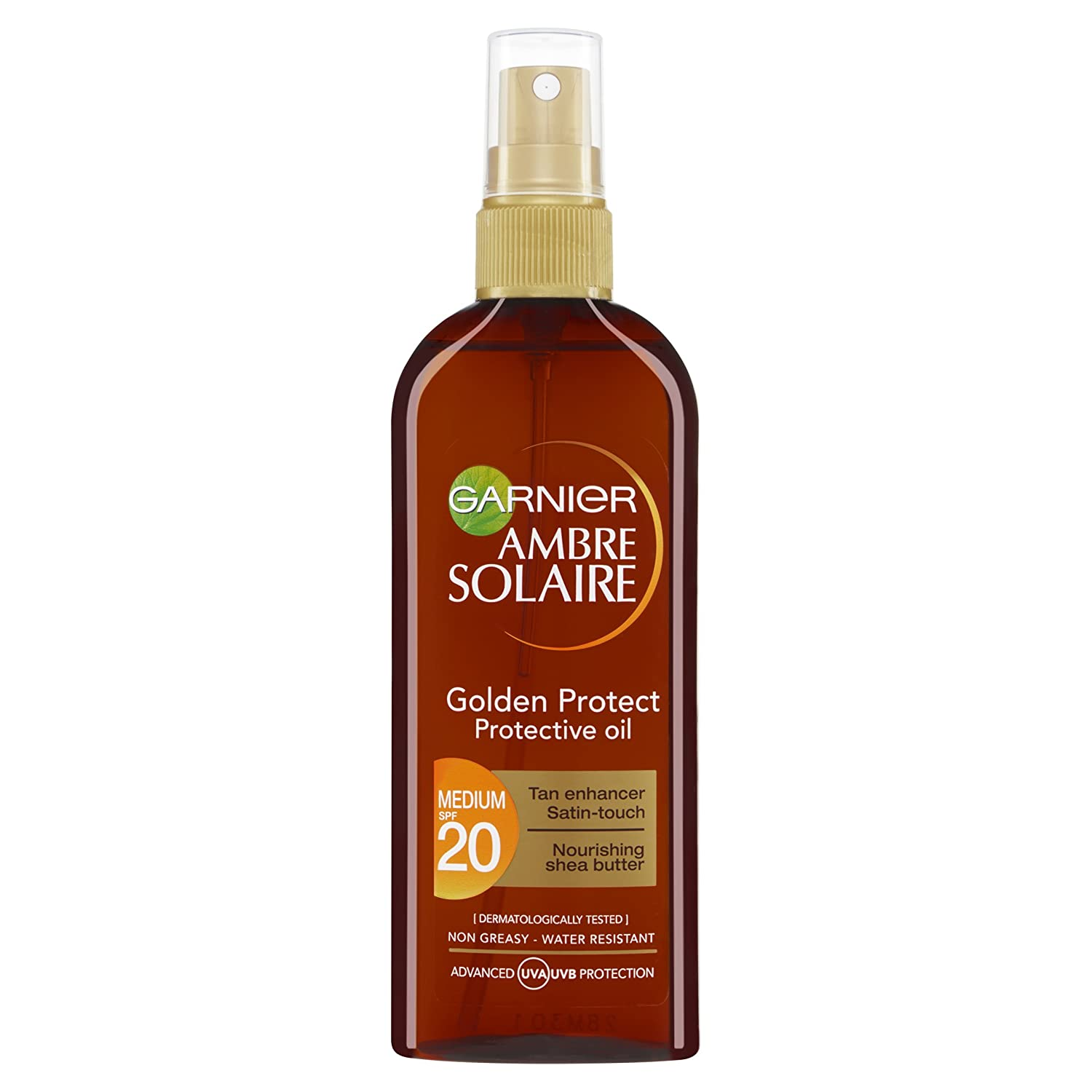 Ambre Solaire Golden Protect Sun Oil SPF20 150ml Garnier/Maybelline NY 3600540873101