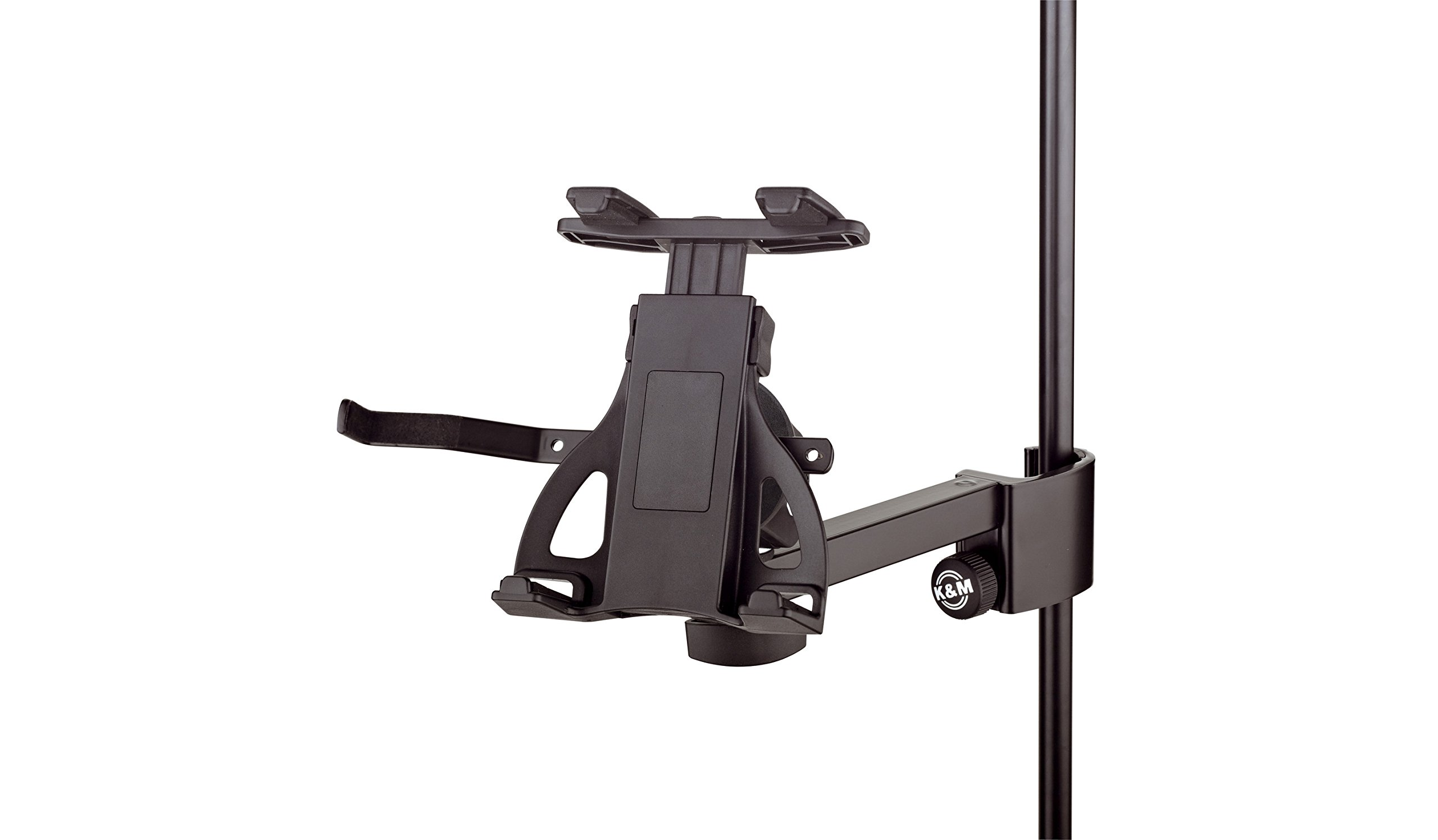K&M Stands 19740 Universal Tablet Holder-Clamp-on