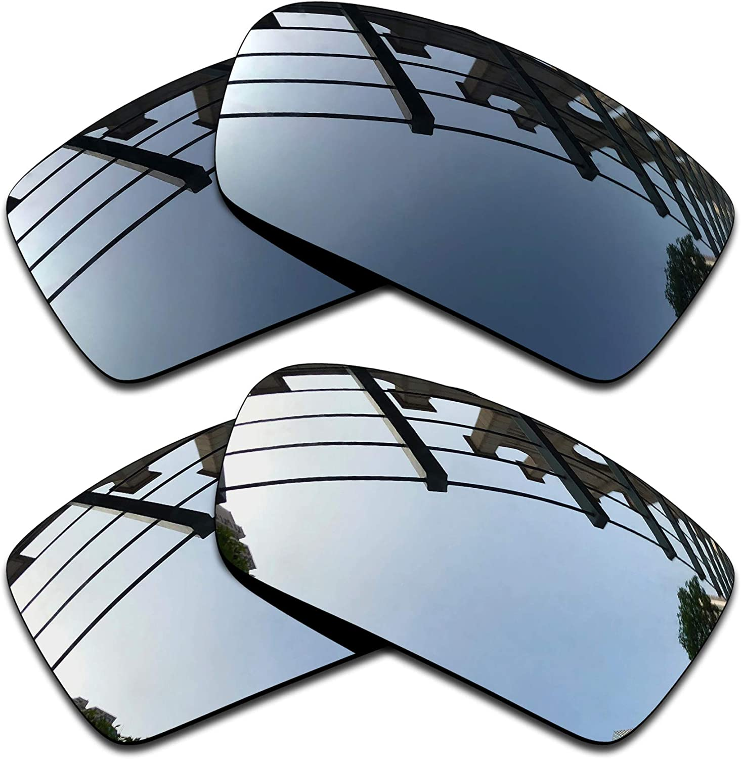 SEEABLE Premium Polarized Mirror Replacement Lenses for Oakley Gascan Sunglasses