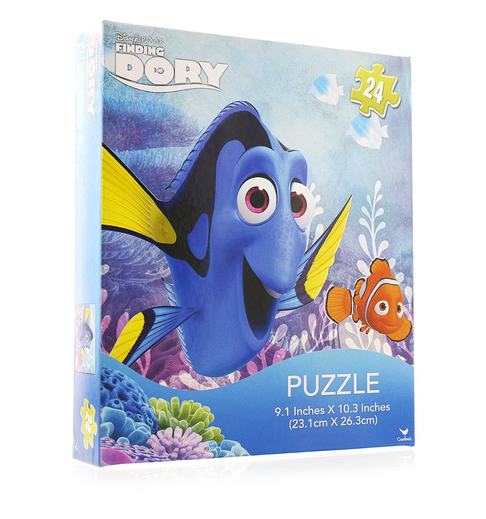 4SGM Disney Pixar Finding Dory 24Piece Puzzle - ASST