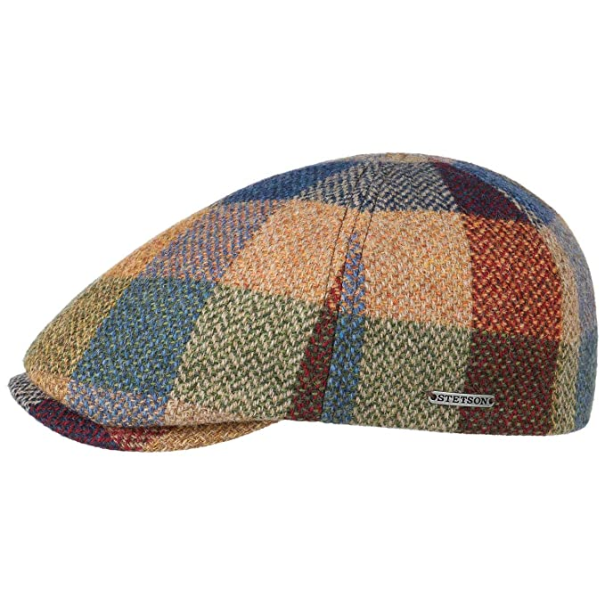 Stetson Gorra Hiko Lambswool Patchwork Hombre - Made in The EU de ...