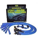 Taylor Cable-64652 HI-ENE CUST8CYL BLU, Blue