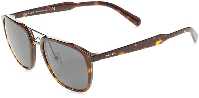 PRADA Prada Herren Sonnenbrille » PR 12TS«, braun, 2AU5S0 - braun/grau