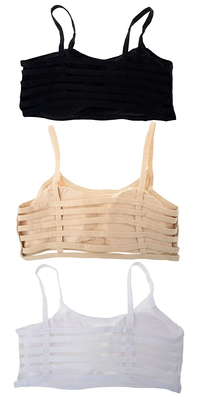 e4cd189057c4de Shoppy Villa Enterprise Women s Cotton Cotton Blend Polyester Bra (6 Straps  Combo)(Pack of 3)  Amazon.in  Clothing   Accessories