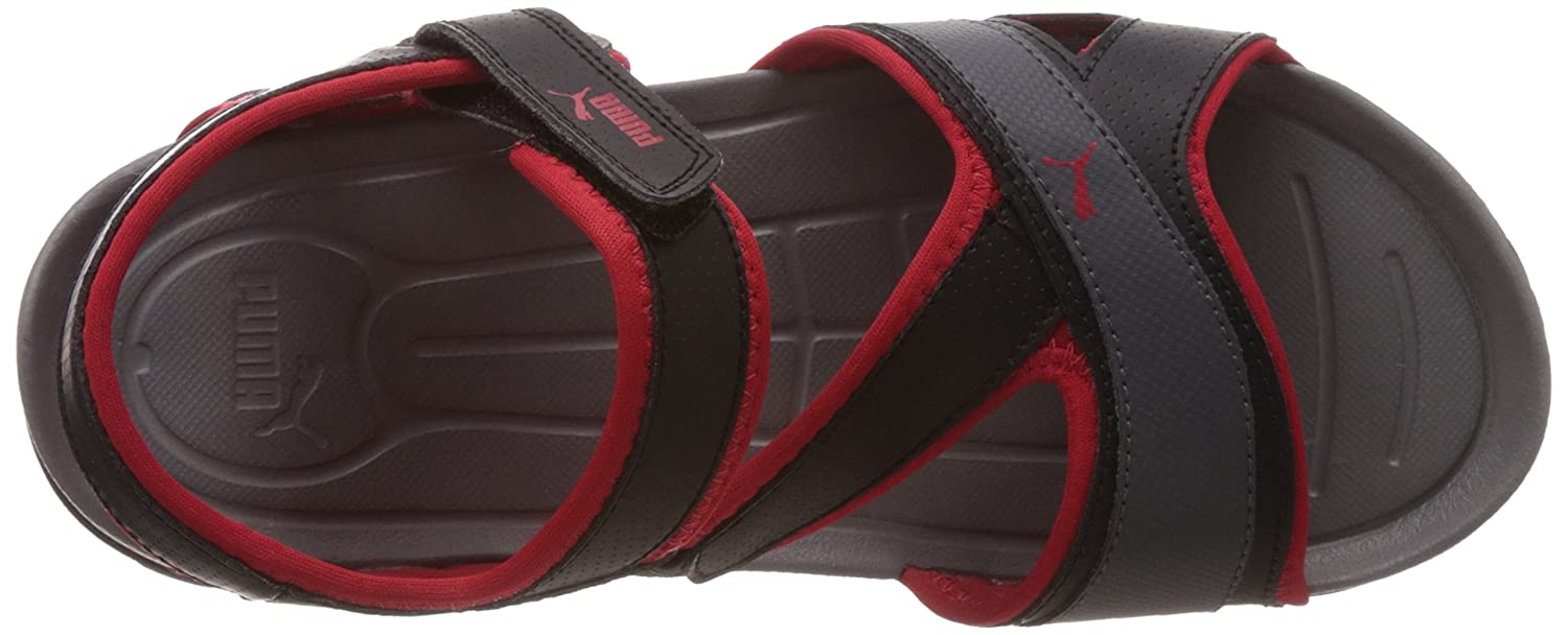 7e1581c630f9 Puma Men s Gadwall DP Black-High Red-Shadow Athletic   Outdoor Sandals - 8  UK India (42 EU)  Buy Online at Low Prices in India - Amazon.in