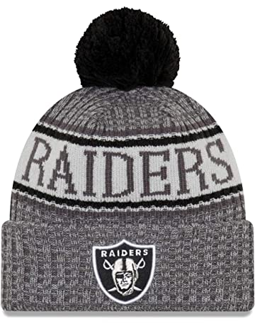 55c6cebefbc New Era NFL Oakland Raiders 2018 Sideline Graphite Sport Knit