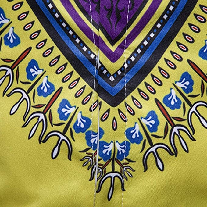 Diseño único Manga Larga de Hombre by BaZhaHei, Blusa Superior de Manga Larga con Estampado Africano de otoño Jersey de Hombre Camisa de Manga Larga con ...