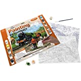 Royal & Langnickel PAL15 Steam Train Painting by Numbers Kit
