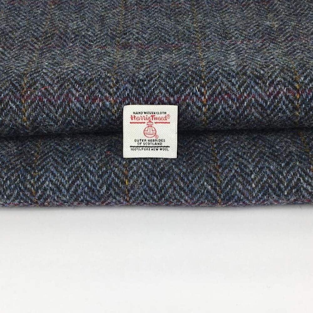 Harris Tweed Fabric /& FREE Labels ALL COLOURS /& SIZES craft herringbone tartan
