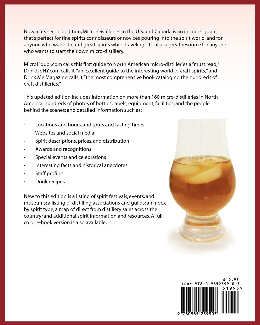 Microdistilleries In The Us And Canada, 2nd Edition: David J Reimer Sr:  9780985259907: Amazon: Books