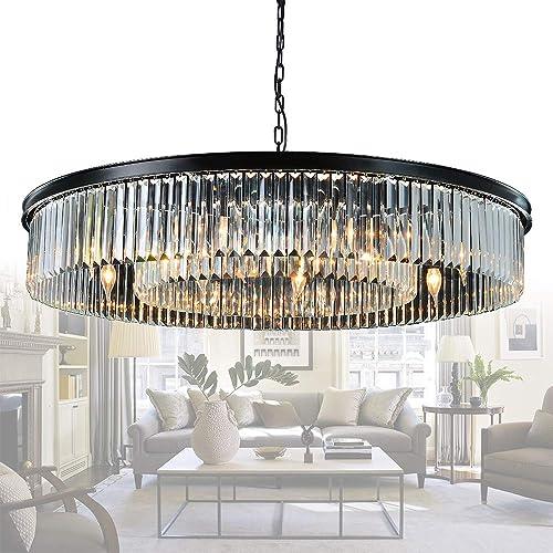 Meelighting Crystal Chandeliers Modern Contemporary Ceiling Lights Fixtures Pendant Lighting