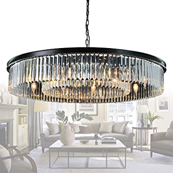 Clearance Sale Crystal Chandelier Lighting Crystal Hanging Lamp Restaurant Living Dining Room Chandelier Light with K9 Crystals