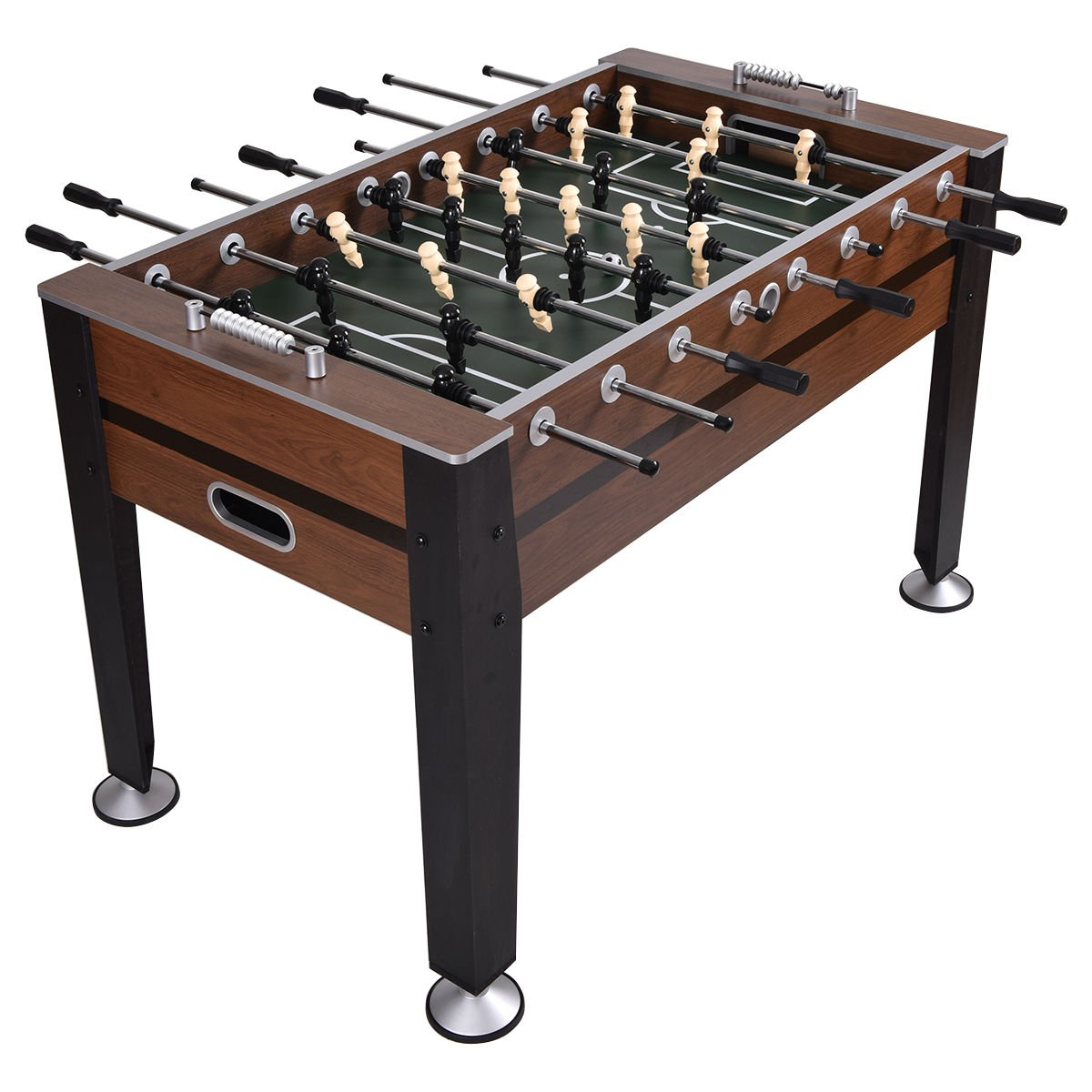 Goplus 54'' Foosball Table Soccer Game Table Competition Sized Football Arcade For Indoor Game Room Sport by Goplus