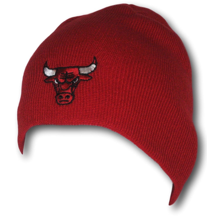 シカゴレッドUncuffedニット帽 B072F9ZZ7P
