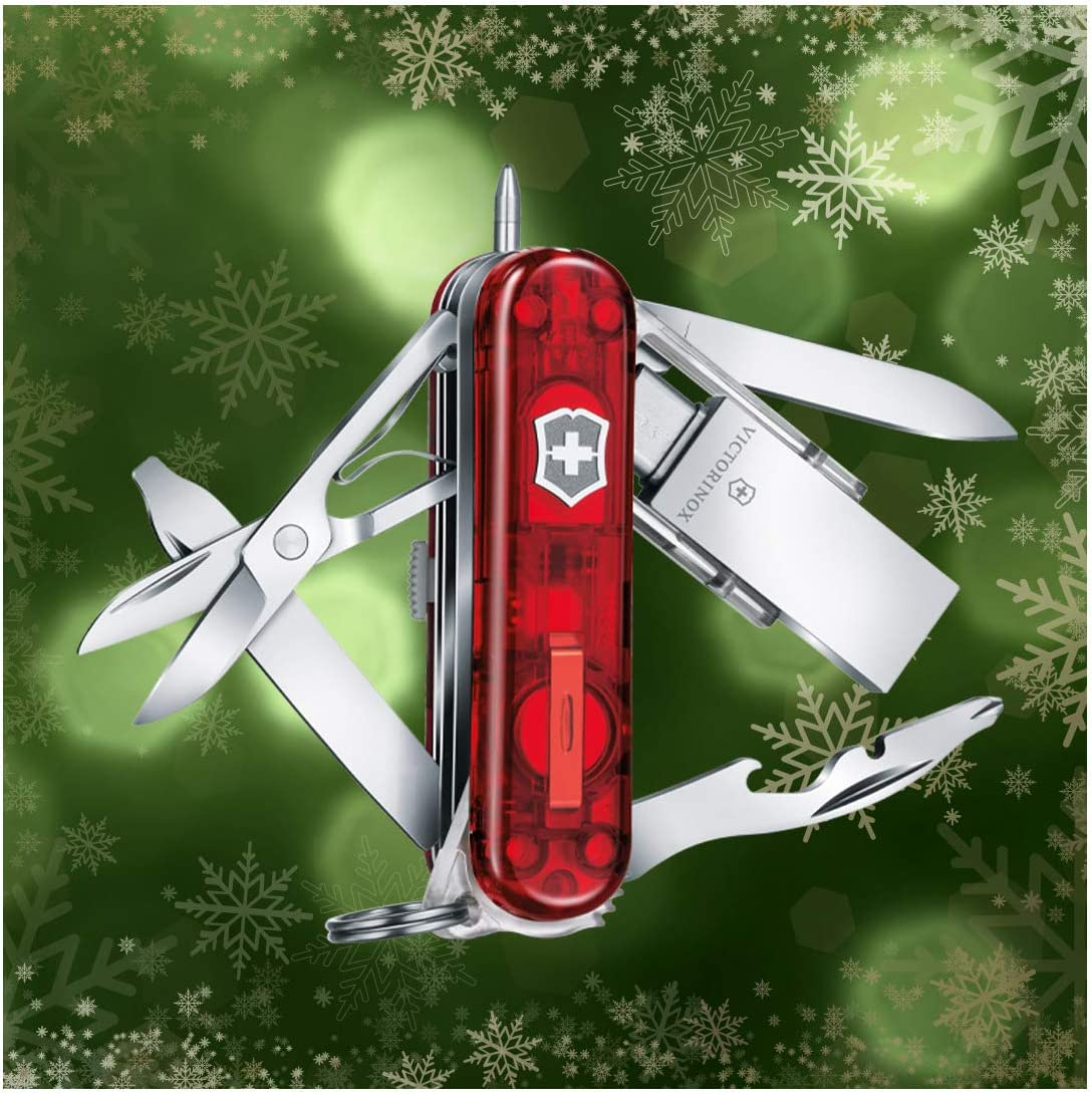 Victorinox 4.6336.TG16 Midnite Manager @Work 3.0 16GB Ruby 58mm to Accompany You on Every Step of The Digital Road in Ruby 2.3 inches