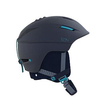 Salomon Damen Icon C.Air Helmet, Wisteria Navy Blue, M