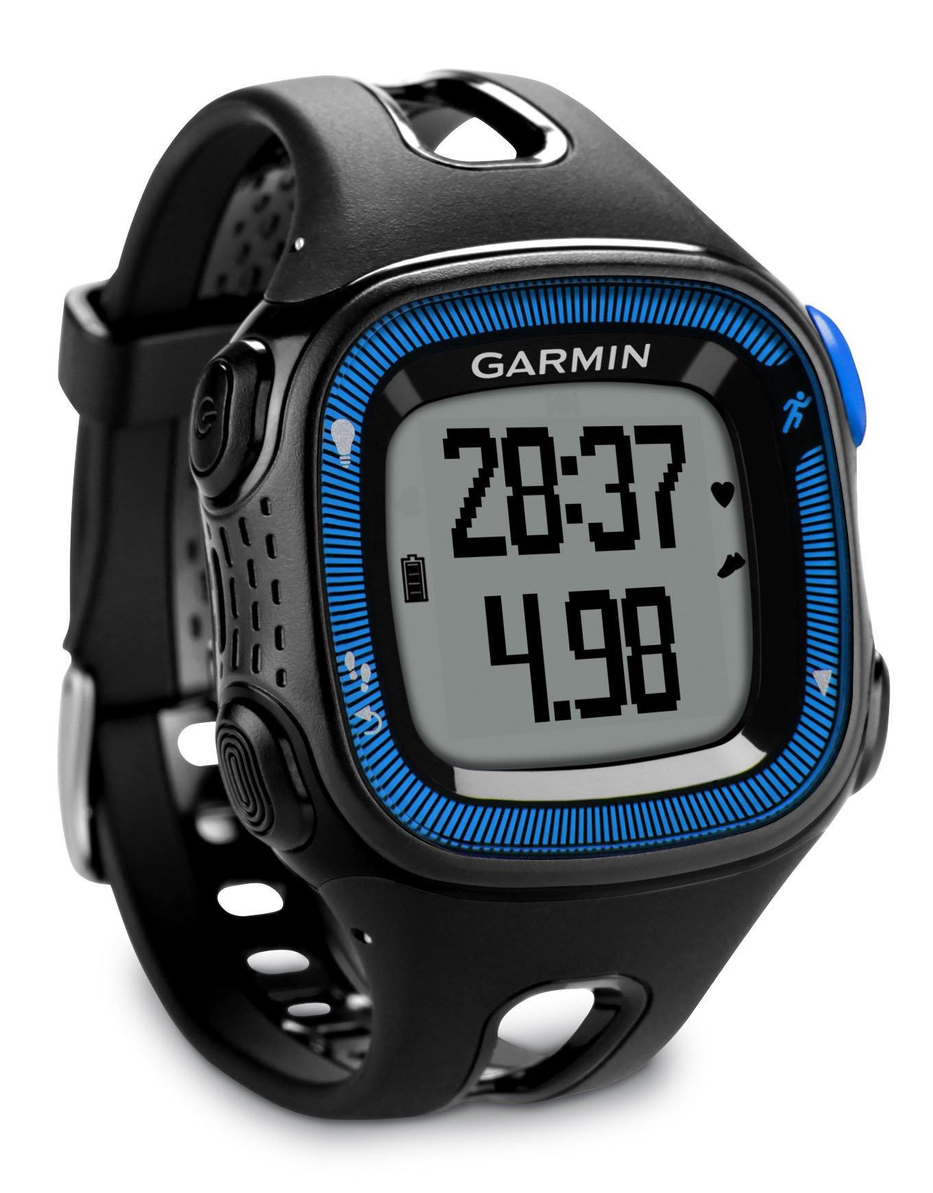 Garmin Forerunner 15 GPS Running con Funzione Contapassi, Misura Large, Nero/Blu product image