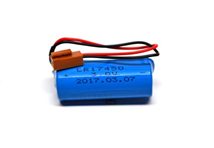 Fanuc A98L-0031-0012 CR17450SE-R Generic Battery with Resistor A02B-0200-K102
