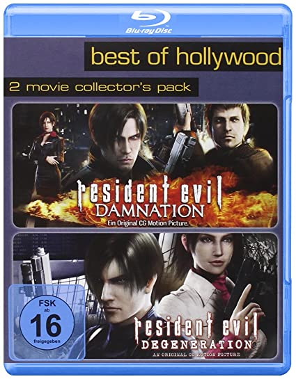 Resident Evil: Degeneration/Resident Evil: Damnation - Best of Hollywood/2 Movie Collectors Pack Alemania Blu-ray: Amazon.es: Cine y Series TV