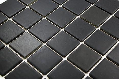 Porcelain Premium Quality 2x2 Black Square Matte Mosaic Tile Great