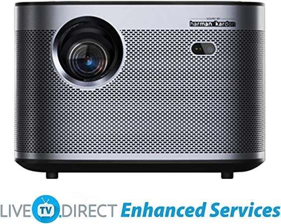 Home Cinema Projector, LiveTV.Direct Enhanced H3 Native 1080p HD 1900 ANSI Lumens Android 3D Smart TV Home Video Movie 4K Projector Built-in Harman/Kardon Hi-Fi Stereo Speaker: Amazon.es: Electrónica